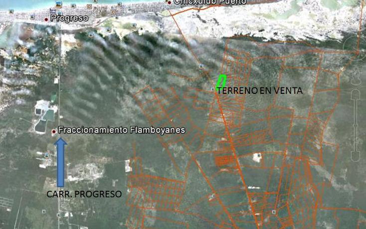 Foto de terreno habitacional en venta en  , chicxulub, chicxulub pueblo, yucatán, 1733404 No. 03
