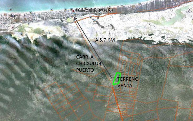 Foto de terreno habitacional en venta en, chicxulub, chicxulub pueblo, yucatán, 1733404 no 05