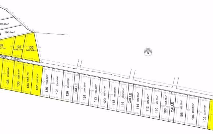 Foto de terreno habitacional en venta en, chicxulub, chicxulub pueblo, yucatán, 1768619 no 01