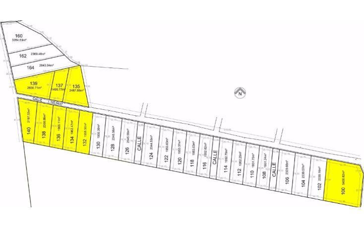Foto de terreno habitacional en venta en  , chicxulub, chicxulub pueblo, yucatán, 1768619 No. 01