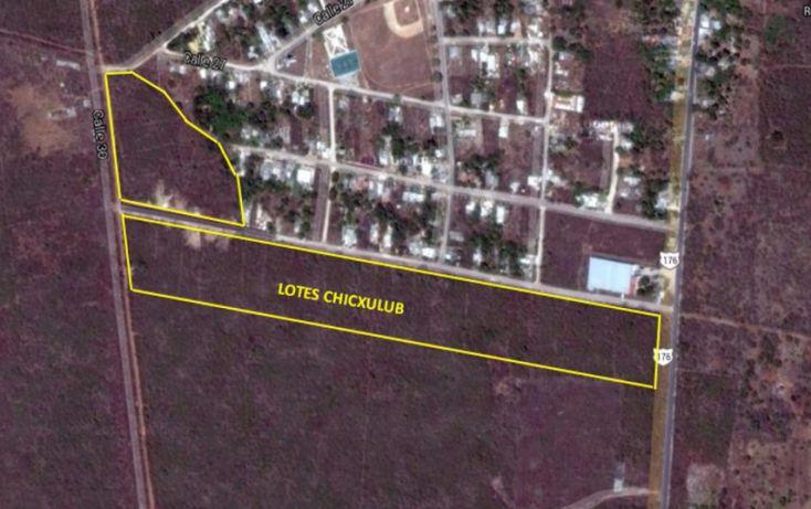 Foto de terreno habitacional en venta en, chicxulub, chicxulub pueblo, yucatán, 1768619 no 02