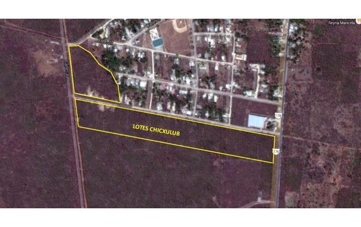 Foto de terreno habitacional en venta en  , chicxulub, chicxulub pueblo, yucatán, 1768619 No. 02