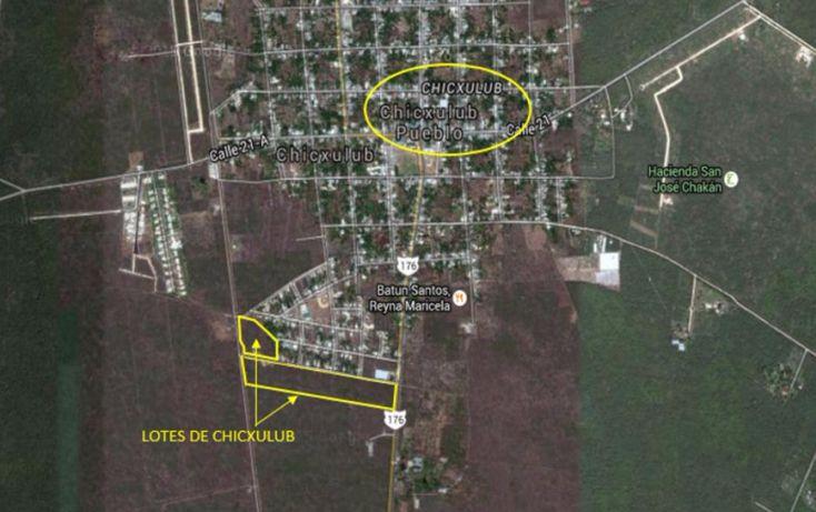 Foto de terreno habitacional en venta en, chicxulub, chicxulub pueblo, yucatán, 1768619 no 03