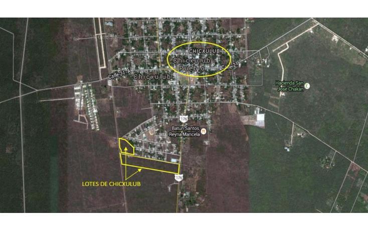 Foto de terreno habitacional en venta en  , chicxulub, chicxulub pueblo, yucatán, 1768619 No. 03