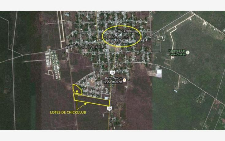 Foto de terreno habitacional en venta en  , chicxulub, chicxulub pueblo, yucatán, 1770320 No. 03
