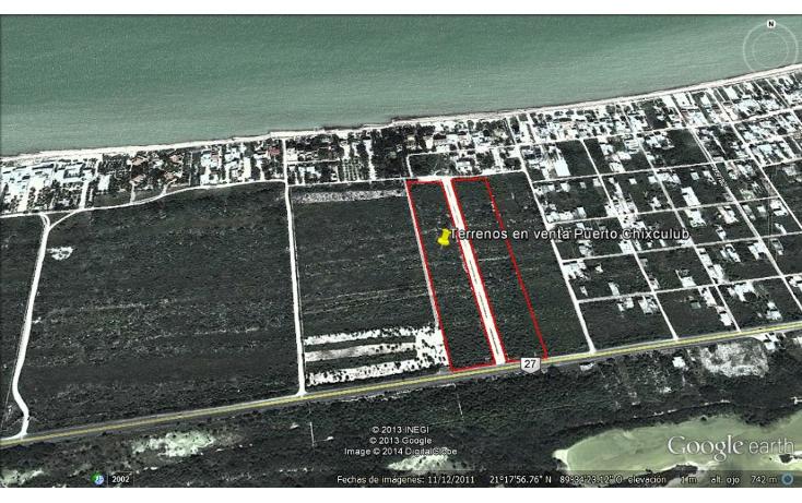 Foto de terreno habitacional en venta en  , chicxulub puerto, progreso, yucatán, 1148609 No. 01