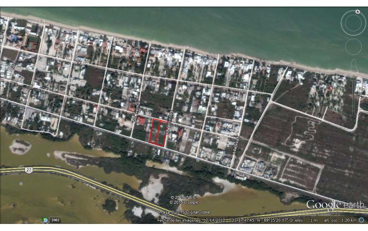 Foto de terreno habitacional en venta en  , chicxulub puerto, progreso, yucat?n, 1280145 No. 01