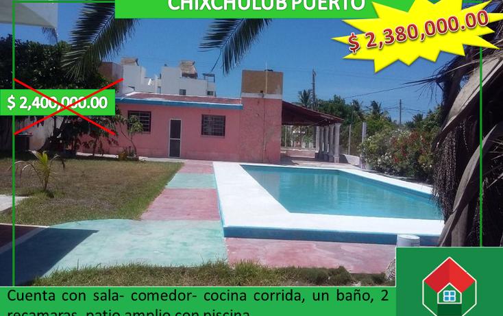 Foto de casa en venta en  , chicxulub puerto, progreso, yucatán, 1418347 No. 01