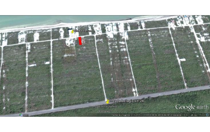 Foto de terreno habitacional en venta en  , chicxulub puerto, progreso, yucat?n, 1438385 No. 02