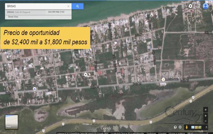 Foto de terreno habitacional en venta en  , chicxulub puerto, progreso, yucatán, 1719338 No. 01