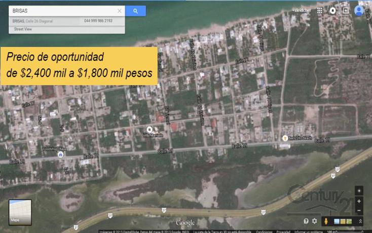 Foto de terreno habitacional en venta en  , chicxulub puerto, progreso, yucat?n, 1860556 No. 01