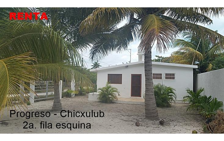 Foto de casa en renta en  , chicxulub puerto, progreso, yucatán, 1927643 No. 01