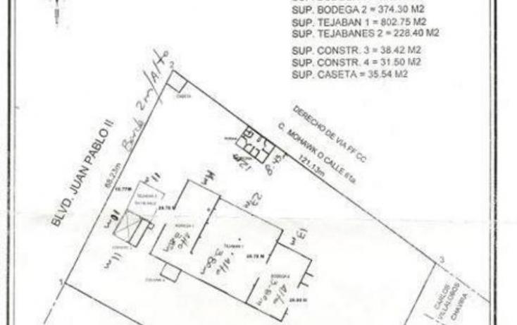 Foto de terreno industrial en venta en, chihuahua general roberto fierro villalobos, chihuahua, chihuahua, 772885 no 24