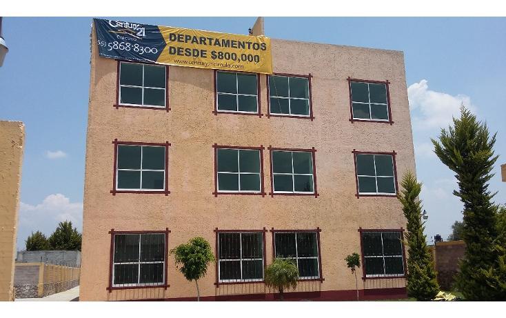 Foto de departamento en venta en chihuahua lt. 17 numero 17 , pueblo nuevo de san pedro, zumpango, méxico, 1707958 No. 01