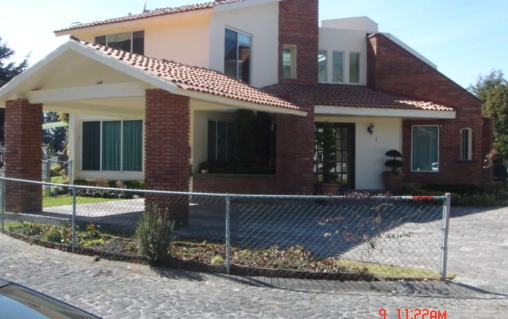 Foto de casa en renta en  , chimaliapan, ocoyoacac, m?xico, 1490529 No. 01