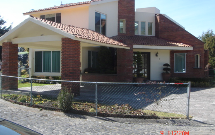 Foto de casa en venta en  , chimaliapan, ocoyoacac, méxico, 1620220 No. 01