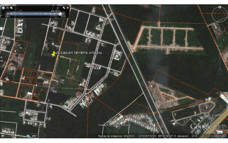 Foto de terreno habitacional en venta en  , cholul, m?rida, yucat?n, 1049081 No. 03