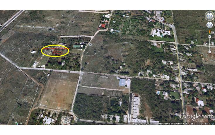 Foto de terreno habitacional en venta en  , cholul, mérida, yucatán, 1061883 No. 01