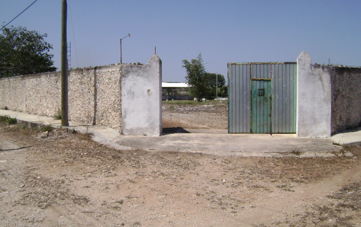 Foto de terreno habitacional en venta en  , cholul, mérida, yucatán, 1062977 No. 01