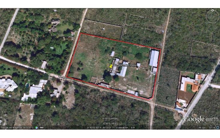 Foto de terreno habitacional en venta en  , cholul, mérida, yucatán, 1062977 No. 14