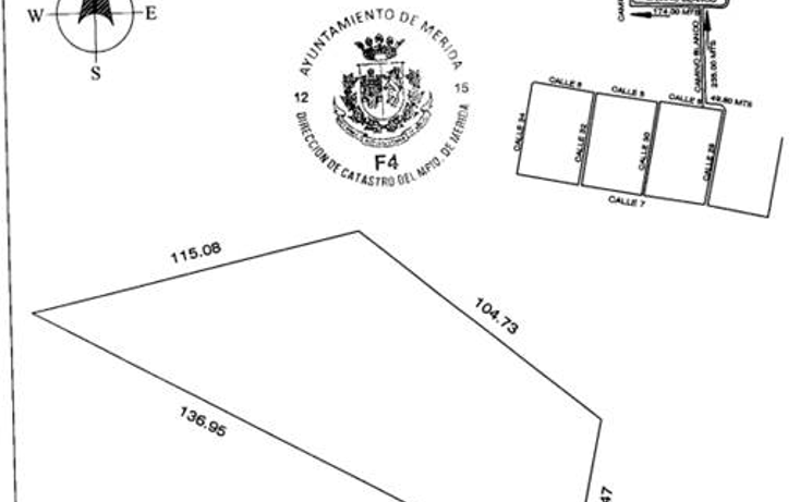 Foto de terreno habitacional en venta en  , cholul, m?rida, yucat?n, 1071237 No. 02