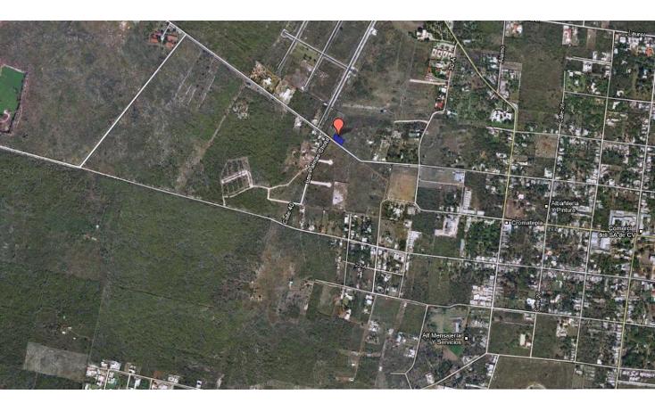 Foto de terreno habitacional en venta en  , cholul, mérida, yucatán, 1074887 No. 03