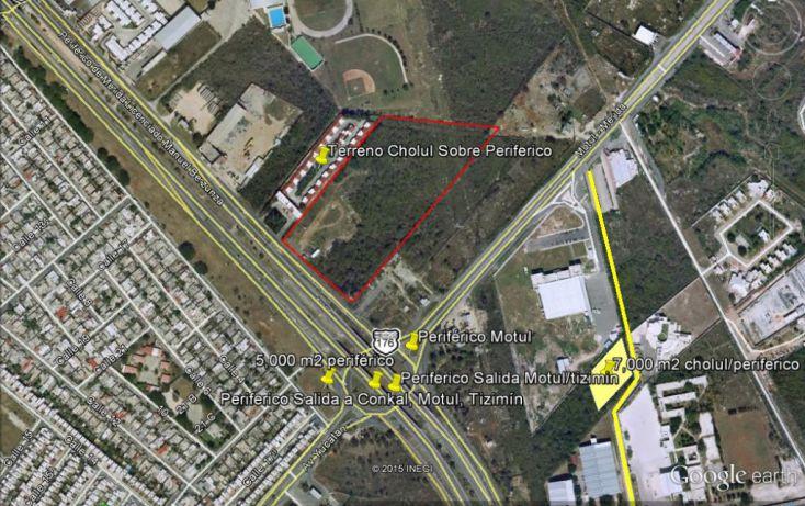 Foto de terreno comercial en venta en, cholul, mérida, yucatán, 1078913 no 01