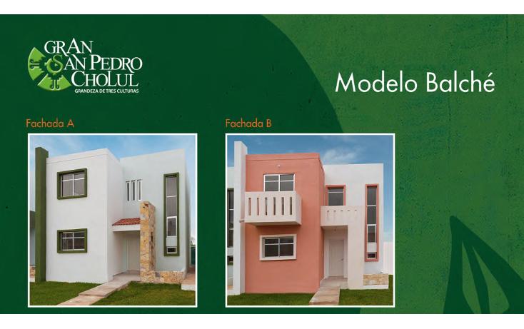 Foto de casa en venta en  , cholul, mérida, yucatán, 1081891 No. 02