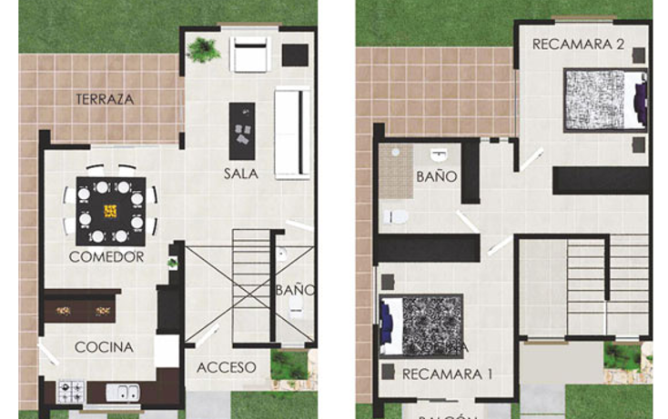Foto de casa en venta en  , cholul, mérida, yucatán, 1081891 No. 03