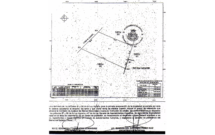 Foto de terreno comercial en venta en  , cholul, m?rida, yucat?n, 1087787 No. 05