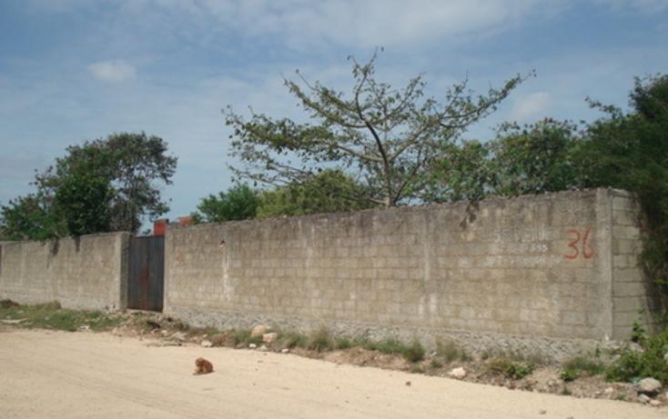 Foto de terreno habitacional en venta en  , cholul, mérida, yucatán, 1088421 No. 01