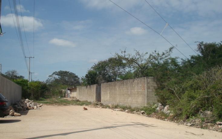 Foto de terreno habitacional en venta en  , cholul, mérida, yucatán, 1088421 No. 02