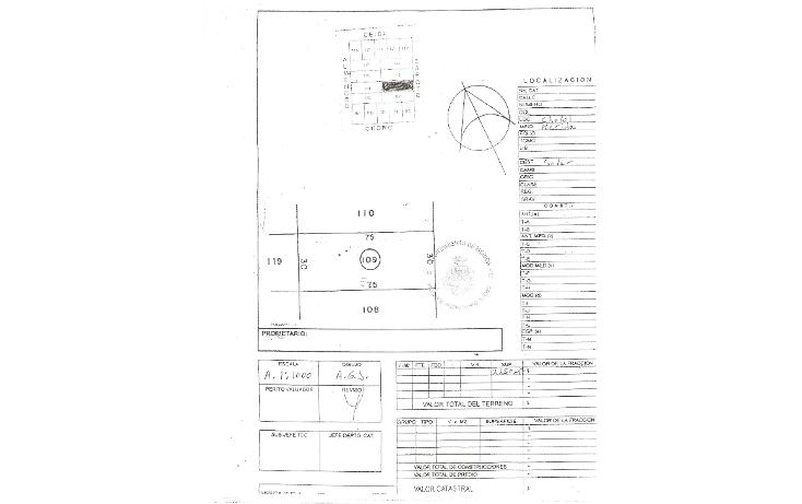 Foto de terreno habitacional en venta en  , cholul, mérida, yucatán, 1088829 No. 02