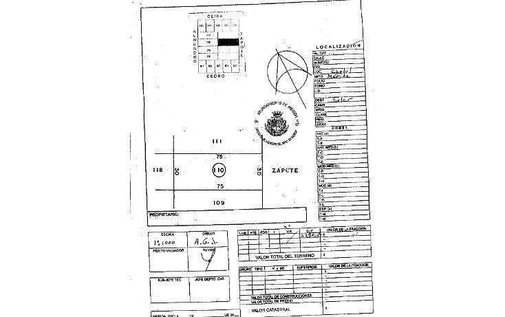 Foto de terreno habitacional en venta en  , cholul, mérida, yucatán, 1088829 No. 03