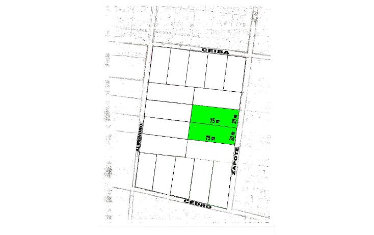 Foto de terreno habitacional en venta en  , cholul, mérida, yucatán, 1088829 No. 04