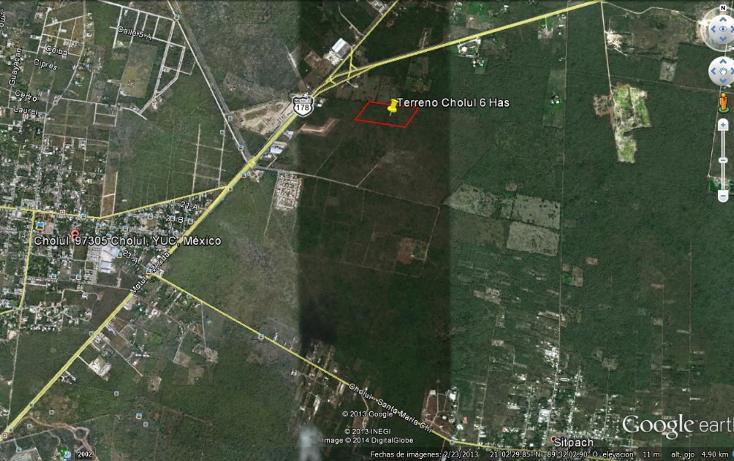 Foto de terreno habitacional en venta en  , cholul, mérida, yucatán, 1089337 No. 01