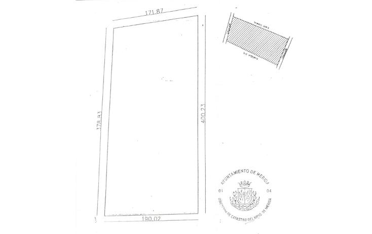 Foto de terreno habitacional en venta en  , cholul, mérida, yucatán, 1089337 No. 02