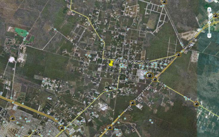 Foto de terreno habitacional en venta en, cholul, mérida, yucatán, 1090149 no 02