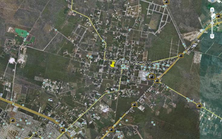 Foto de terreno habitacional en venta en  , cholul, m?rida, yucat?n, 1090149 No. 02
