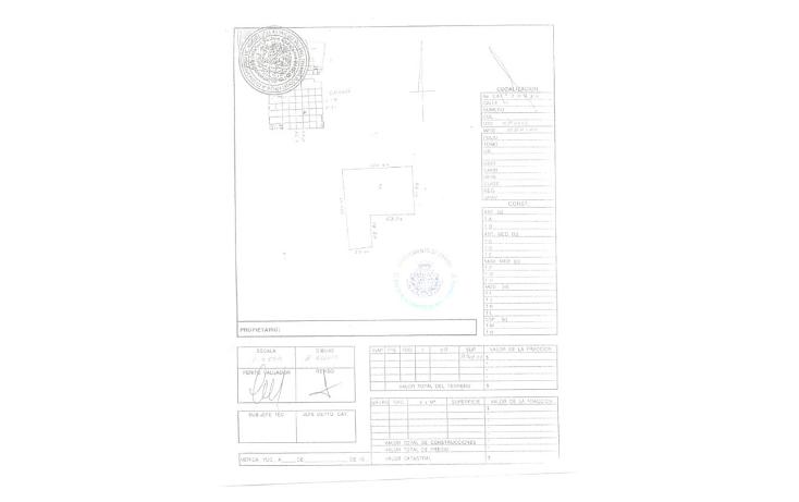 Foto de terreno habitacional en venta en  , cholul, m?rida, yucat?n, 1090149 No. 03