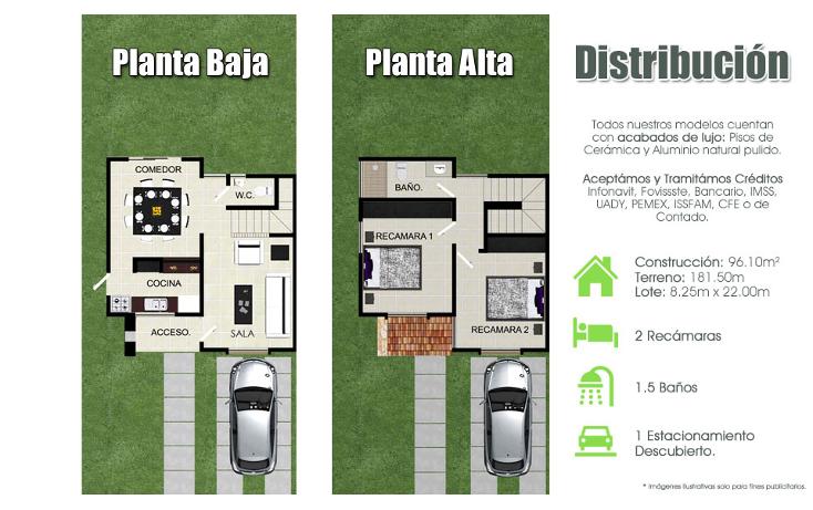 Foto de casa en venta en  , cholul, mérida, yucatán, 1091265 No. 02