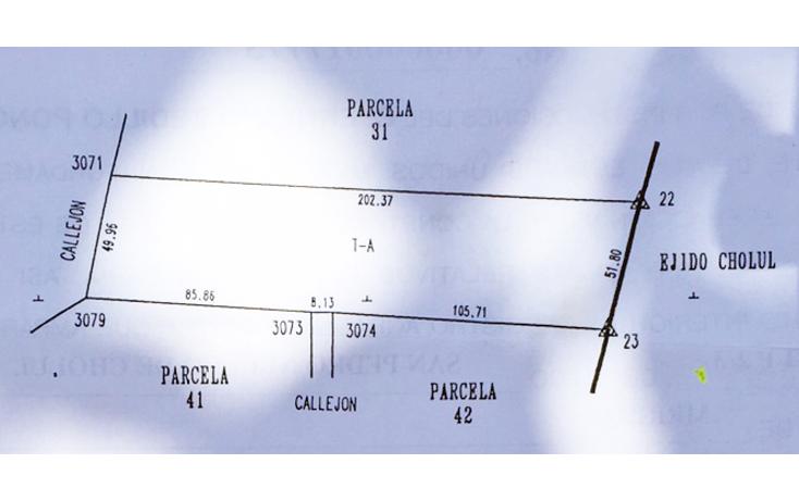 Foto de terreno habitacional en venta en  , cholul, mérida, yucatán, 1097179 No. 01