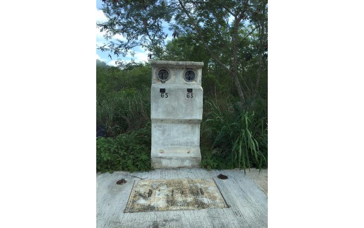 Foto de terreno habitacional en venta en  , cholul, mérida, yucatán, 1108773 No. 01