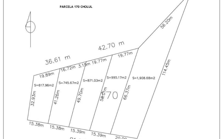 Foto de terreno habitacional en venta en  , cholul, mérida, yucatán, 1111483 No. 02