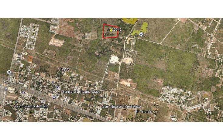 Foto de terreno comercial en venta en  , cholul, mérida, yucatán, 1111933 No. 01