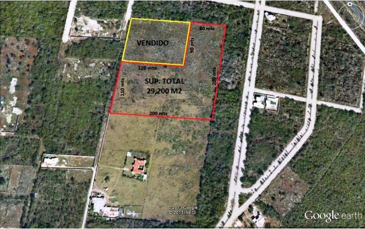 Foto de terreno habitacional en venta en  , cholul, mérida, yucatán, 1123109 No. 01
