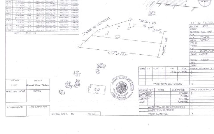 Foto de terreno habitacional en venta en  , cholul, mérida, yucatán, 1126837 No. 02