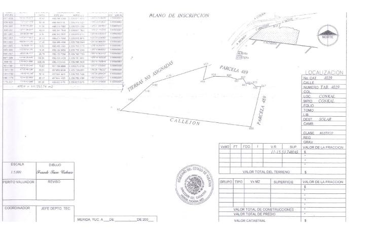 Foto de terreno habitacional en venta en  , cholul, mérida, yucatán, 1126837 No. 03