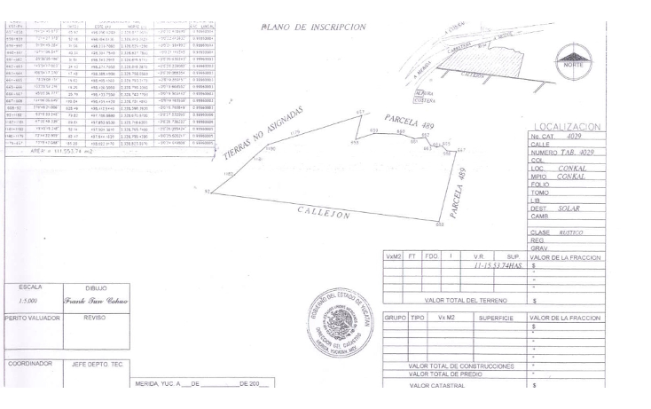 Foto de terreno habitacional en venta en  , cholul, m?rida, yucat?n, 1126837 No. 03