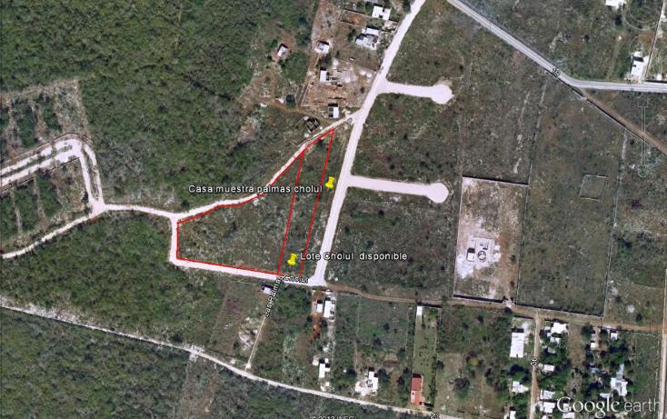 Foto de terreno habitacional en venta en  , cholul, mérida, yucatán, 1127277 No. 01